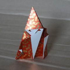 Pureland wizard by Hideo Komatsu [Hideo Komatsu challenge 03/50] (Orizuka) Tags: origami wizard hkchallenge hideokomatsu