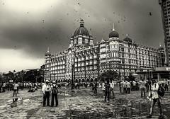 Rain soaked Taj Mahal Palace Hotel!