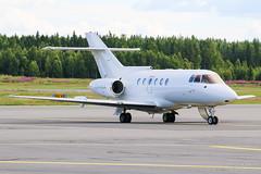 OY-RAA Air Alsie BAe 125-800B, EFTP, Finland (Sebastian Viinikainen.) Tags: oyraa air alsie business businessjet british aerospace bae 125 eftp