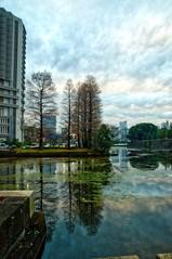 Incredibly Beautiful Place (Eustaquio Santimano) Tags: tokyo imperial palace incredibly beautiful place reflection outside garden wall