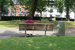 Redditch 2017 (Matt Hunt.) Tags: park redditch shoot bench street shoes public candid