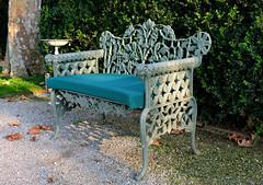Bench at Bauer Palladio Hotel (Colorado Sands on autumn break) Tags: bench sandraleidholdt venice veneto italian europe italy italia cushion hotelbauerpalladio bauerhotelandspa hbm giudecca