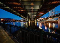 POTW 2017-07-16 - Under the Zakim Bridge in Boston (BillDamon) Tags: boston night zakimbridge