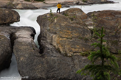 The Natural Bridge (maureen.elliott) Tags: ngc river rock water rapids waterfalls yohonationalpark landscape scenery mountains rockies britishcolumbia kickinghorseriver