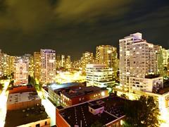 Vancouver, British Columbia (Comiccreator24) Tags: cityscape vancouverbc vancouver britishcolumbia cityatnight city cityskyline pacificnorthwest canada panasoniclumix panasonic july2017 night nightphotography northamerica