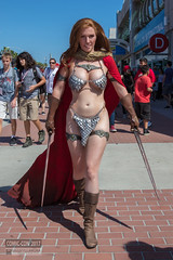 Comic-Con 2017 Red Sonja Cosplay Jacqueline Goehner (Manny Llanura) Tags: san diego comiccon cosplay manny llanura photography cosplayer sdcc 2017 red sonja jacqueline goehner dc