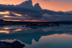 Blue Lagoon (kanaristm) Tags: bluelagoon iceland midnight lava lamp