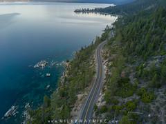 Lake Tahoe (Mike Ver Sprill - Milky Way Mike) Tags: lake tahoe aerial sky top down drone shot landscape nature green trees blue water gorgeous beautiful amazing mavic pro road trip travel nevada california