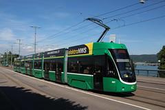 5017 (200er Serie) Tags: tram drämmli schienenfahrzeug bvb basler verkehrsbetriebe grün flexity bombardier