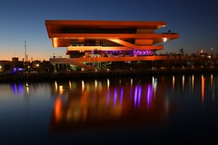 IMG_8032 (AndyMc87) Tags: valencia harbour building architecture sunset langzeitbelichtung longtimeexposure longtime reflection water wasser wet stitch stitched clear sky travel holiday canon eos 6d 2470 l veles e vents americas cup