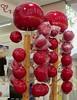 Pommes d'amour, fête foraine des Quiconces, Bordeaux, Gironde, Aquitaine, France.