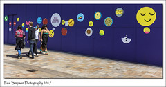 Sheffield couples (Paul Simpson Photography) Tags: sheffield citycentre southyorkshire paulsimpsonphotography imagesof imageof photosof photoof streetart urbanphotography streetphotography urbex sonya77 july2017 peoplephotography sunshine harmony livinginharmony ebonyandivory england manonaphone