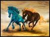 Caballos de Hielo y Fuego (Hersson Piratoba) Tags: caballos arte art oil painting paint animal fantasy fantasia surrealismo surrealism nossreh canvas lienzo oleosobrelienzo horse horses fuego hielo galope ice fire herssonpiratoba iceandfire óleo pintura