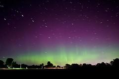 Startrails (davidaschultz63) Tags: aurora borealis auroraborealis northern lights sony a6000 stars star trails astrophotography astro plotagraph landscape nature space sky night