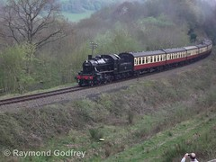 46443 (LMS 2-6-0 Ivatt Class 2) (Faversham 2009) Tags: highley 46443 svr severnvalleyrailway shropshire steam locomotive loco train lms ivatt 260 class2