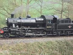 46443 (LMS 2-6-0 Ivatt Class 2) (Faversham 2009) Tags: highley 46443 svr severnvalleyrailway shropshire steam locomotive loco engine train lms ivatt 260 class2