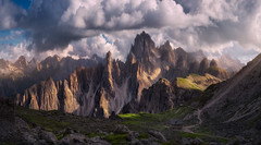 Lost (Carlos F. Turienzo) Tags: dolomites dolomiti alps italy mountain sunset tre cime lavaredo huy shelter