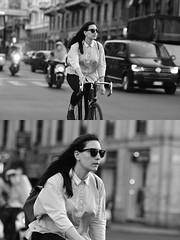 [La Mia Città][Pedala] (Urca) Tags: milano italia 2017 bicicletta pedalare ciclista ritrattostradale portrait dittico bike bicycle nikondigitale scéta biancoenero blackandwhite bn bw 102657