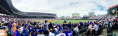 Chicago, 2017 (gregorywass) Tags: chicago cubs wrigley field summer july 2017 ballpark crowd fans people game white sox panorama panoramic