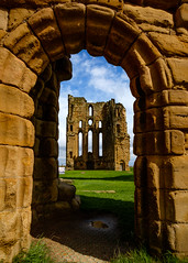 Tynemouth Priory and Castle (3) (S.R.Murphy) Tags: architecture coast england englishheritage fujixt2 july2017 northeastengland tynemouth tynemouthpriory fujifilmxf1024mm