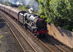 LMS Royal Scot Class 46115 Scots Guardsman (Brian The Euphonium) Tags: steam train lms scotsguardsman 46115 northwalescoast railway royalscotclass colwynbay welshmountaineer pentax ks2 sigma50mmf14dgex