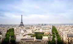 Eiffel revisited (Estevo Machado) Tags: eiffeltower eiffel torreeiffel torre landscape paisagem cityscape city paris frança france europe europa d5100 view pointofview