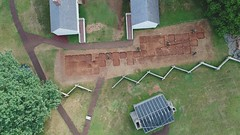 DJI_0012 (Montpelier Archaeology) Tags: indianadrone archaeology aerial fencelin fenceline southyard