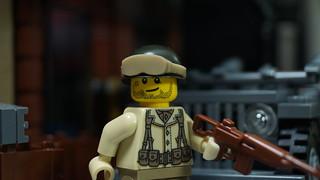 Lego WWII: Lt. Ryan Oswald