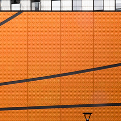 street lights (morbs06) Tags: 2017 architecture black building circles colour facade france geometry lines nantes orange panels pattern paysdelaloire repetition square streetlights textureabstract wall texture abstract railing windows