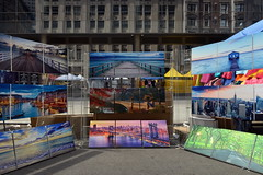 Street Scene (Eddie C3) Tags: newyorkcity manhattan streetscenes midtown streetfairs streetart