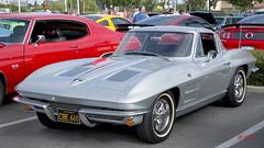 1963 Chevrolet Corvette Sting Ray Coupe --- EXPLORED (Pat Durkin OC) Tags: 1963chevrolet corvette stingray coupe silver whitewalltires c2 secondgeneration 2gen billmitchell