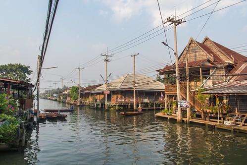 marche fottant damnoen saduak - thailande 5