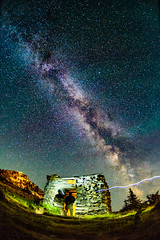 Milky Way over McNeil Point, Mt Hood Wilderness, Oregon (haroldshields1) Tags: mounthood oregon unitedstates us astrophotography stars milkyway camping hiking backpacking wilderness nightsky