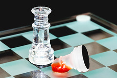 Queen Takes Pawn (Bryan Nabong) Tags: chess game macro macromondays pawn queen