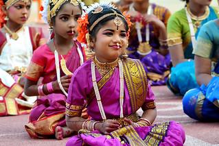 Kuchipudi Guinness Dance -Hyderabad 2014 (8)