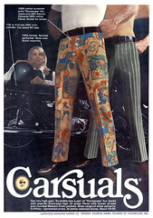 Carsuals' Horoscope Fun Slacks, 1970 ad (Tom Simpson) Tags: carsuals horoscope pants trousers 1970 1970s 1970sfashion vintage mensfashion menswear ad ads advertising advertisement vintagead vintageads