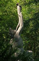 Mainz, Stadtpark, Triton (Municipal Park) (HEN-Magonza) Tags: mainz stadtpark municipalpark rheinlandpfalz rhinelandpalatinate germany deutschland triton valentinbarth