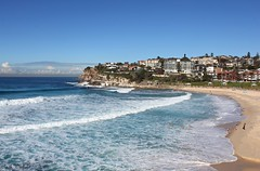 Bronte to Bondi (WinRuWorld) Tags: beach sea ocean coast water sand southpacific bronte bondi bathers swimming scenery blue sydney nsw newsouthwales australia canon canon60d canoneos60d efs1855mmf3556isii ruthwinfield outside naturallight sunshine winter