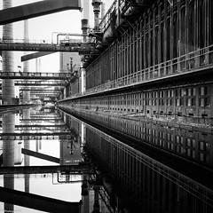 Zollverein, Kokerei (fhenkemeyer) Tags: essen reflexionen ruhrgebiet kokerei zollverein
