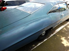 Edgemont Village, North Vancouver, British Columbia, Canada (Comiccreator24) Tags: pontiac parisienne pontiacparisienne sixtiescar bluecar canada nikonography britishcolumbia streetphotography westerncanada pacificnorthwest vancouver vancouverbc americancar rwd lhd generalmotors outside unconventionalangle northvancouver