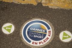 Cannes Capitale du sport en plein air (Steph Blin) Tags: trottoir street sol rue cannes ville côtedazur 06 france sport pleinair outdoor sun soleil