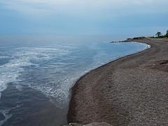 Superior Beach Clouds (Knaupter) Tags: minnesota mn northshore shore beach river lake superior lutsen silverbay