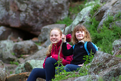 Cocoparra National Park NSW (nictink) Tags: nationalparks np landscape scenic scenery clouds bluesky bridge rocks rockformations children nature flora
