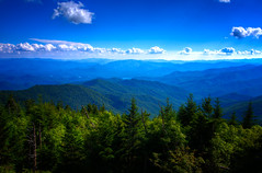 The Great Smoky Mountains (·tlc∙) Tags: greatsmokymountainnationalpark clouds sky unesco world heritage site tennessee northcarolina