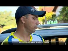 JMD (06/06/17) - Imprudência no trânsito causa acidente (portalminas) Tags: jmd 060617 imprudência no trânsito causa acidente