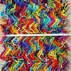 The first foot (crochetbug13) Tags: crochet crocheted crocheting crochetrippleafghan crochetrippleblanket crochetripplethrow scrapghan yarnscrapcrochet crochetblanket texturedcrochetblanket usewhatyouhave texturedcrochetthrow texturedcrochetafghan crochetthrow crochetafghan