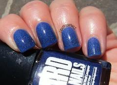 Ard As Nails Bachelor's Button (Simona - www.lightyournails.com) Tags: ardasnails holographic blue indienails indies esmalte smalto unghie manicure vernis nails nailpolish nagellack naillacquer nailswatch