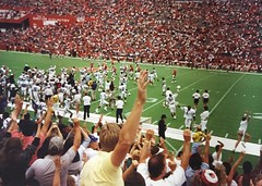 Memphis St upsets Florida at the swamp on October 8, 1988 (Jbsbbailey) Tags: smith emmitt swamp hall galen upset bailey charlie 1988 football gators florida state memphis