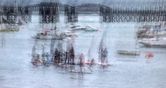Messing about on the Water (cotswoldman) Tags: barmouth wales northwales snowdonia abstract artistic art impression intentionalcameramovement icm impressionism impressionist blur gloucestercameraclub surfing surfers sailboards sailboarding water river rivermawddach cardiganbay