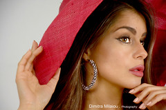summer moments...in red (dimitra_milaiou) Tags: red portrait woman model actor hat face life live love look greece europe portraiture photography photo light color colour nikon d milaiou dimitra 7100 d7100 summer spring time summertime moment nice lovely lady female ελλάδα πορτραίτο πορτρέτο γυναικα hellas προσωπο action act glamour earing jewellery fingers hands fashion world beautiful beauty eyes εφε